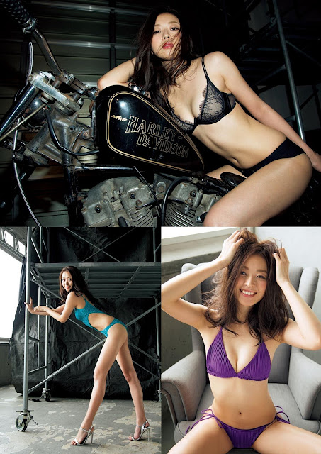 Nakagawa Chika 中川知香 Weekly Playboy 2017 No 6 Photos