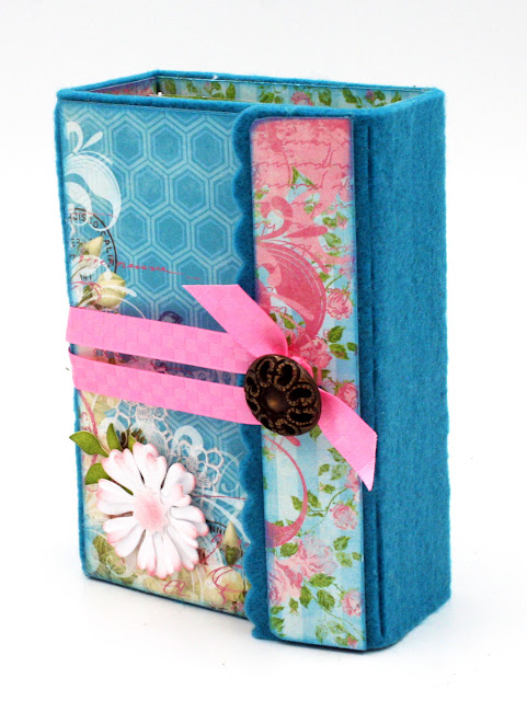 Wrapped Journal Mini Album