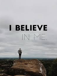 Believe In Me - Self Religion