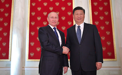 Russian President Vladimir Putin, President of China Xi Jinping.