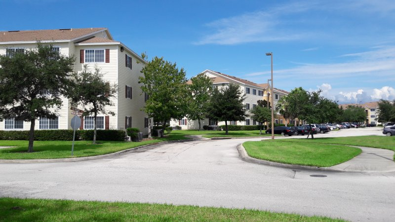 Street View Within Apartment Complex