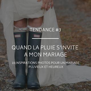 """Idées photos et conseils lorsqu""""il pleut à notre mariage blog un jour mon prince viendra 26"""