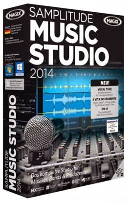 Download Samplitude Music Studio 2014 + Ativação