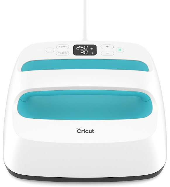 The new Cricut EasyPress makes iron on projects a breeze!