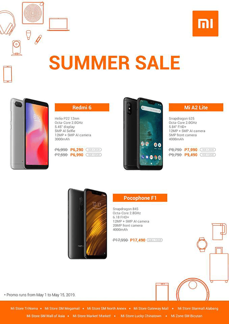 Sale Alert: Xiaomi launches Hot Summer Sale featuring POCOPHONE F1, Redmi 6 and Mi A2 Lite!