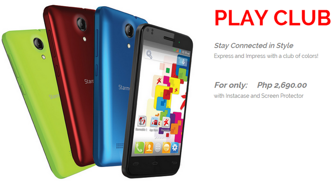 Best Smartphones Under 3K, Starmobile Play Club