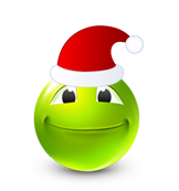Christmas Smiley Icon 10