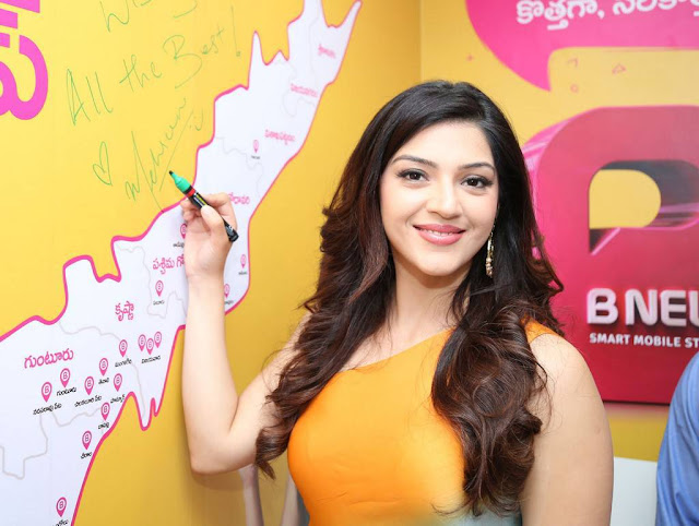 Mehreen Kaur Stills At B New Mobile Store Launch At Adoni
