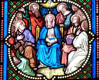 La Venida del Espíritu Santo el día de Pentecostés