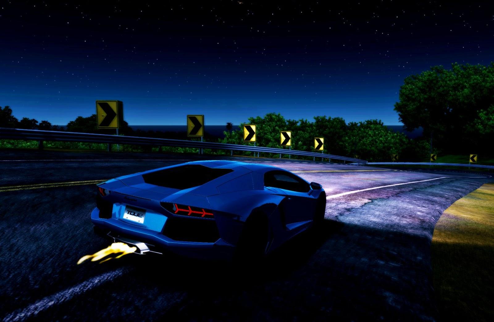 Lamborghini Blue Flame Wallpaper Densus Wallpapers