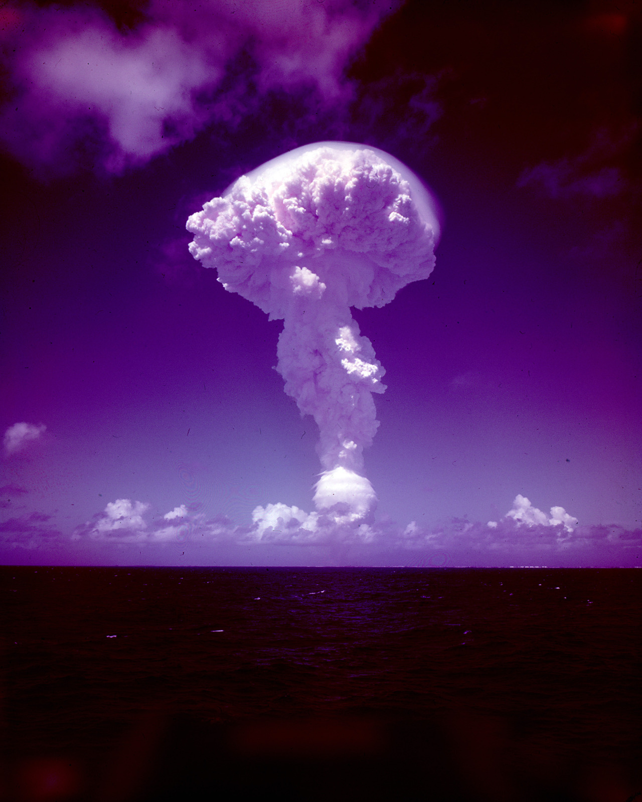 f747ff780ae The Pure-Fission Nuclear Bomb Ivy King Detonated, November 15, 1952 ...