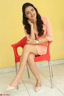 Rukshar Mir in a Peachy Deep Neck Short Dress 042.JPG