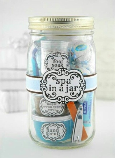 Spa in a Jar. Foto: Thegunnysock.com