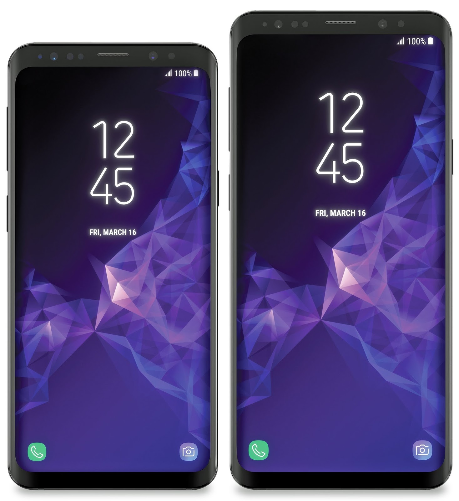 Samsung Galaxy S9 and S9 Plus Official Wallpaper
