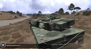 Arma3用スウェーデン軍パックのStrv 122
