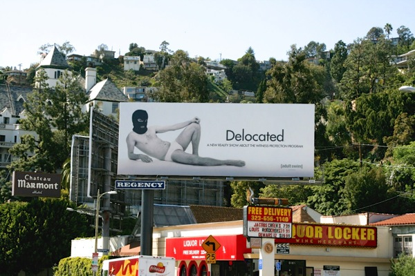 Delocated season 1 billboard