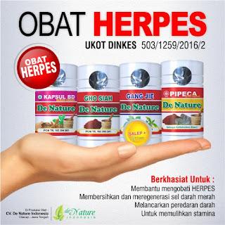 Obat Herpes De Nature Yang Asli