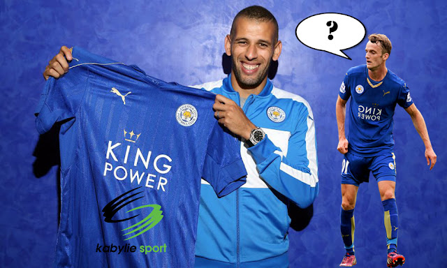 Andy King parle d'Islam Slimani
