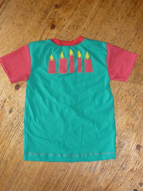 Shirt zum Geburtstag nähen