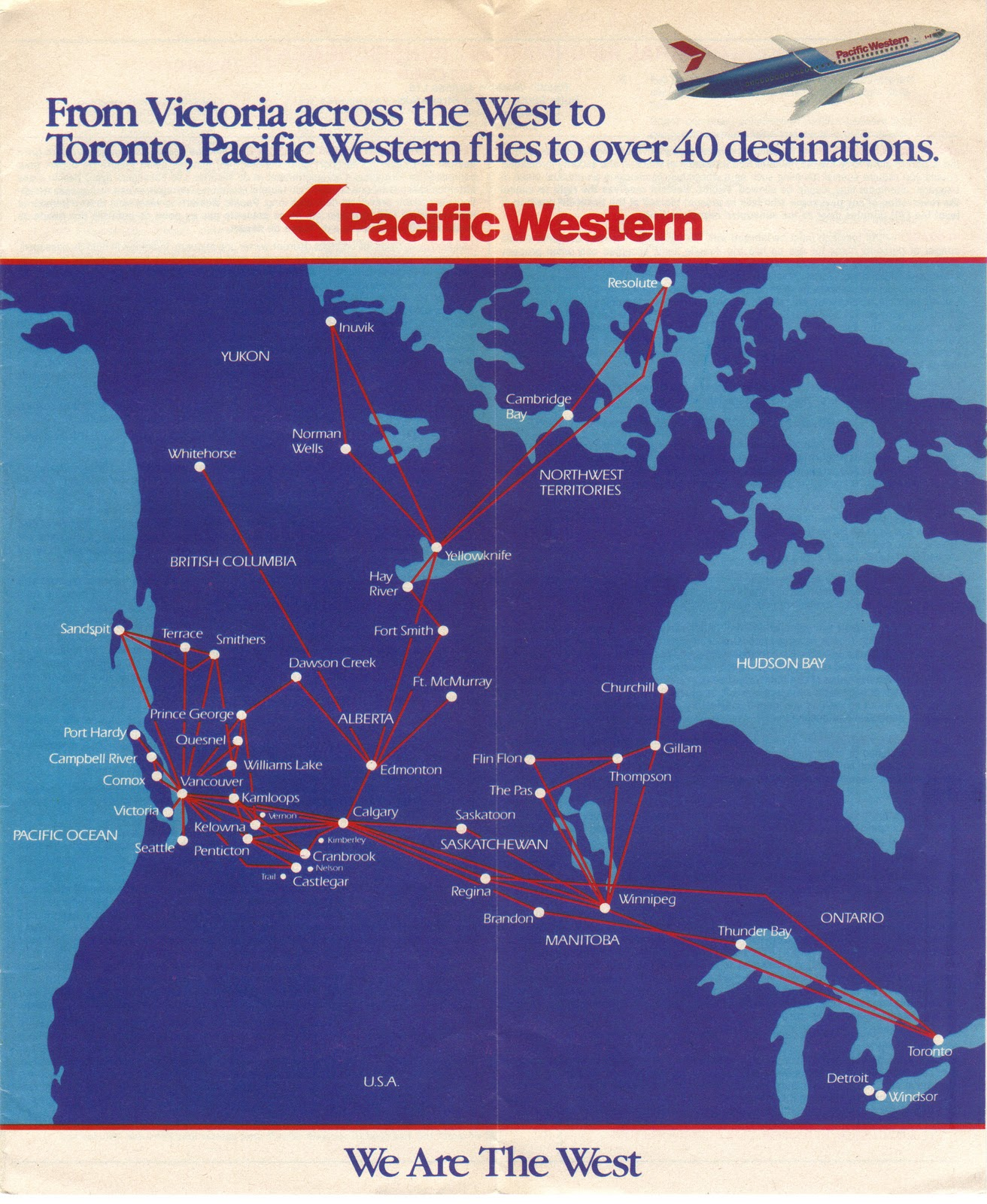 PWA+Route+Map+Sep+85 Airline Route Map Western Canada on northwest airlines route map, alitalia airlines route map, independence air route map, solomon airlines route map, hughes airwest route map, jackson airlines route map, wright airlines route map, twa route map, american airlines route map, alaska airlines route map, empire airlines route map, rocky mountain airways route map, air florida route map, united airlines route map, atlantic coast airlines route map, continental airlines route map, saudi arabian airlines route map, eastern airlines route map, golden west airlines route map,