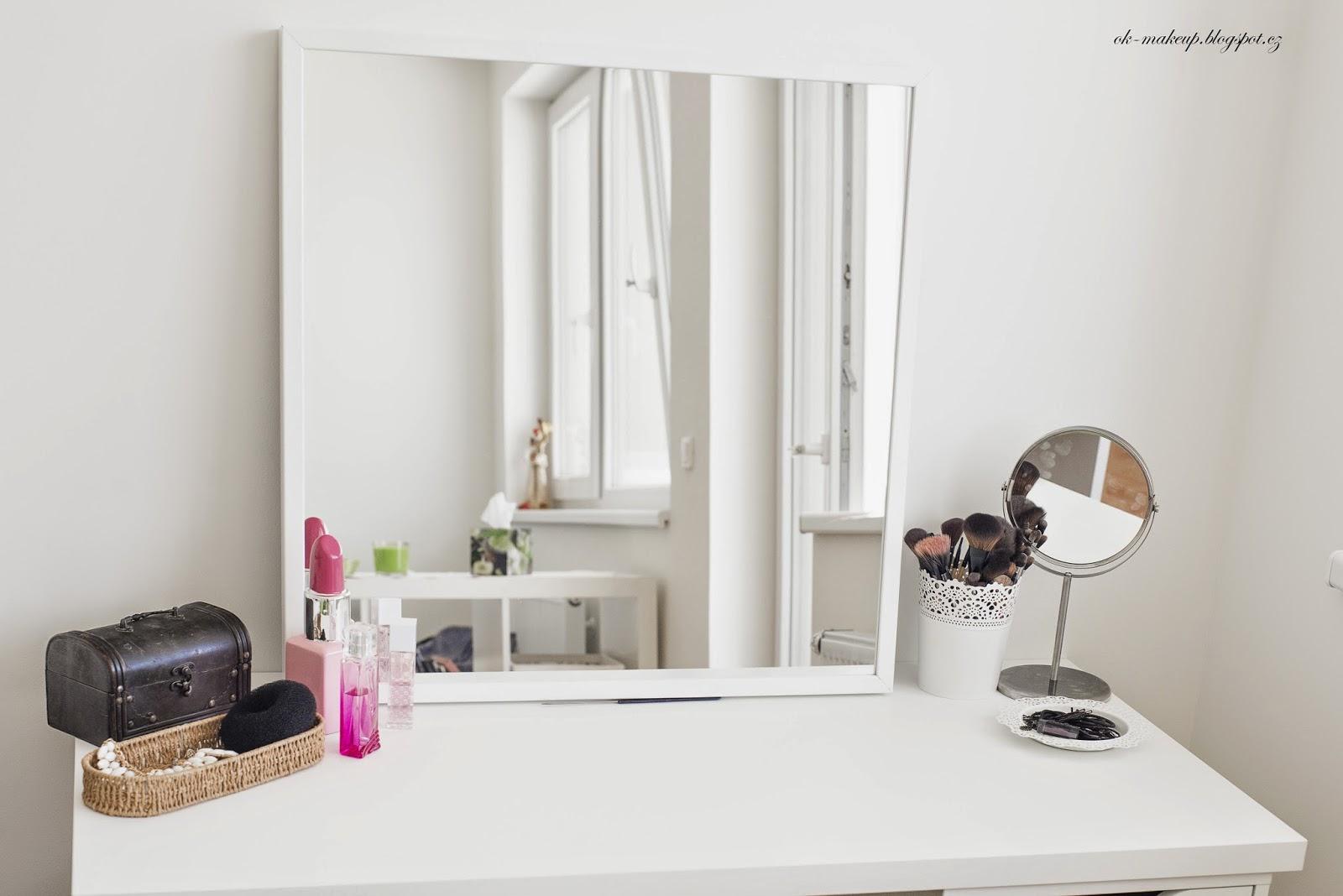my flat, white, cosmetics