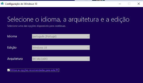 windows 10 ambas as versões
