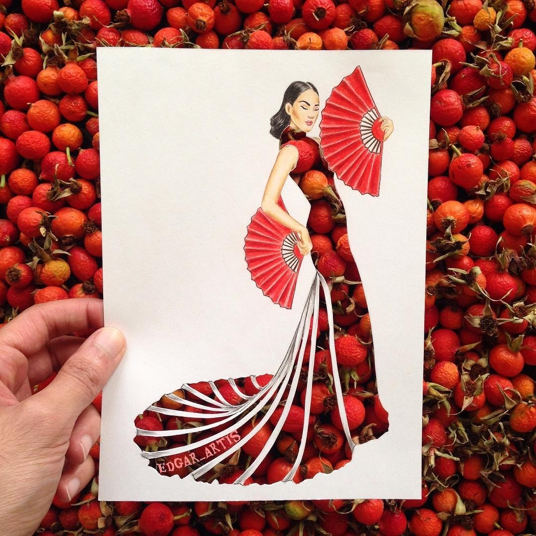 13-Happy-Chinese-New-Year-Edgar-Artis-Multimedia-Drawings-and-Food-Art-Dresses-www-designstack-co