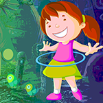 Play Games4King Hoop Playing Girl Rescue