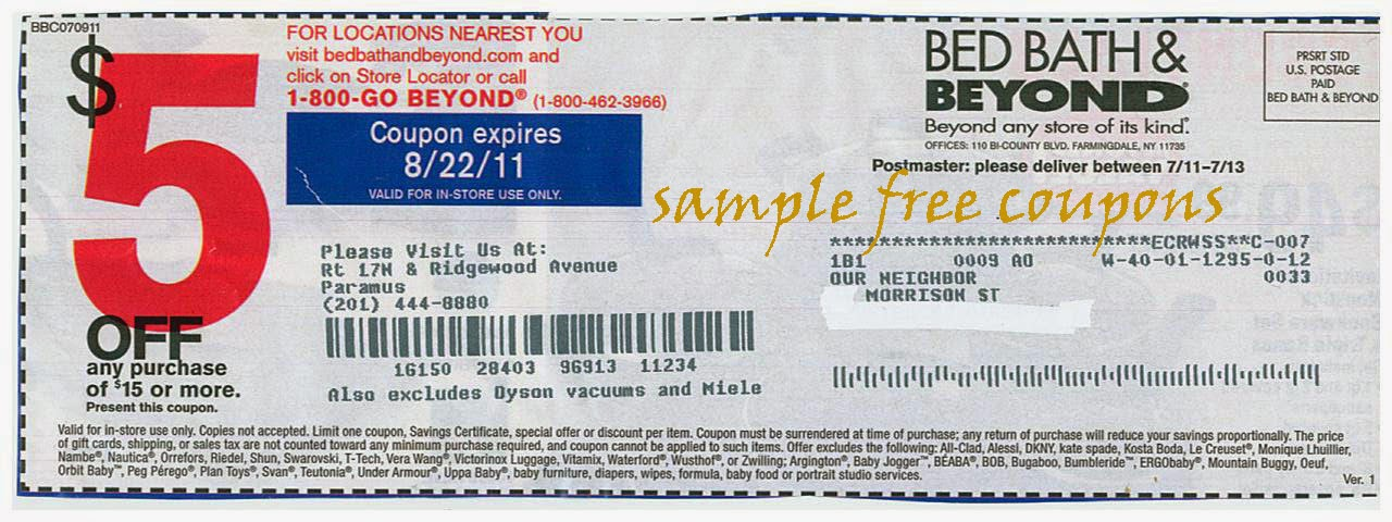 20 Bed Bath And Beyond Coupon