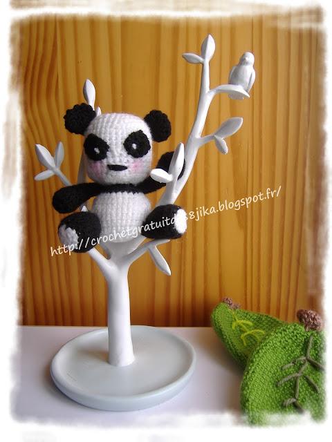 Panda au crochet
