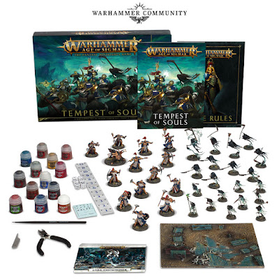 Tempest of Souls Age of Sigmar con pinturas