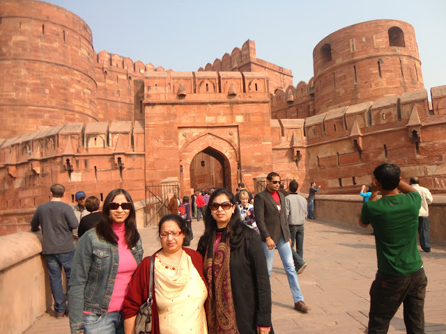 Amar Singh Gate of Agra Fort Agra