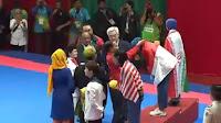 Defia Rosmaniar Raih Medali Emas dari Cabang Taekwondo