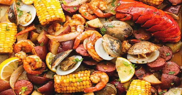 Sheet Pan Clambake Recipe