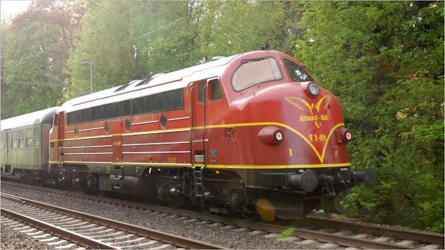 NOHAB 1149 der Altmark-Rail