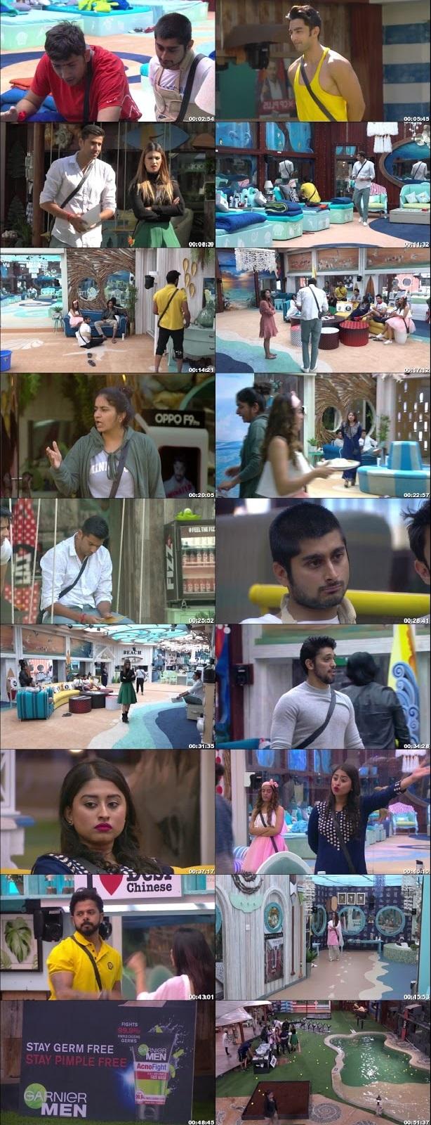 Screenshots Of Hindi Show Bigg Boss 12 16th November 2018 Episode 61 300MB 480P HD