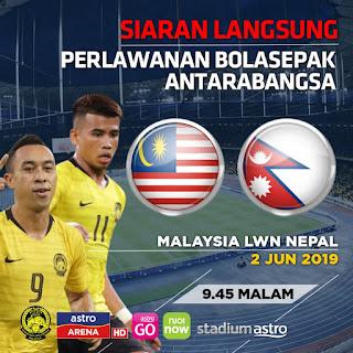 Watch Live Nepal vs Malaysia | International Football Friendly