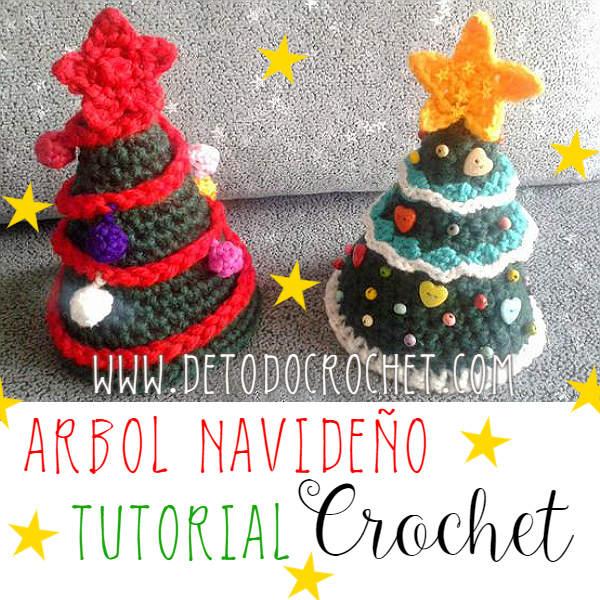 Arbol de Navidad Crochet para Principiantes / Tutorial en Español ...