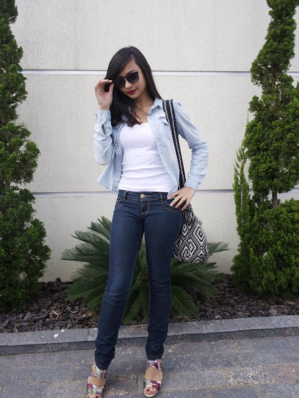 Look do Dia: Jeans Básico