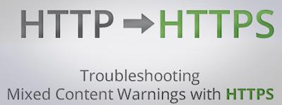 Memperbaiki Mixed Content Karena HTTPS