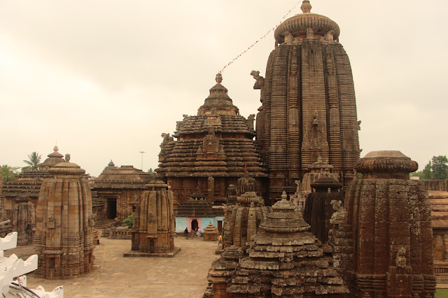 The Lingaraj Temple, Bhubnashwar, Odisha, India