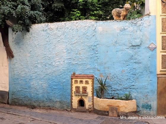 La casa de los gatos en el barrio del Carmen, Valencia