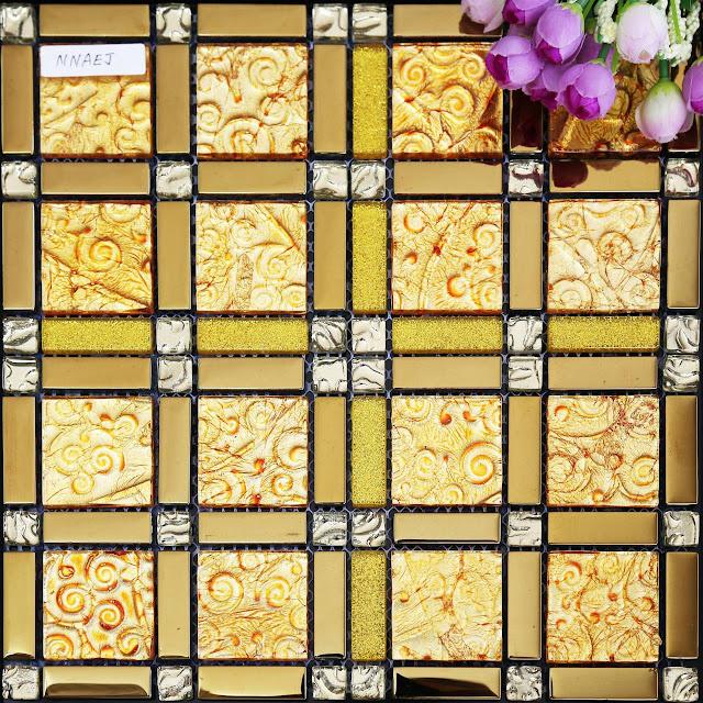 玻璃馬賽克系列2——金銀倉www.shknw.com