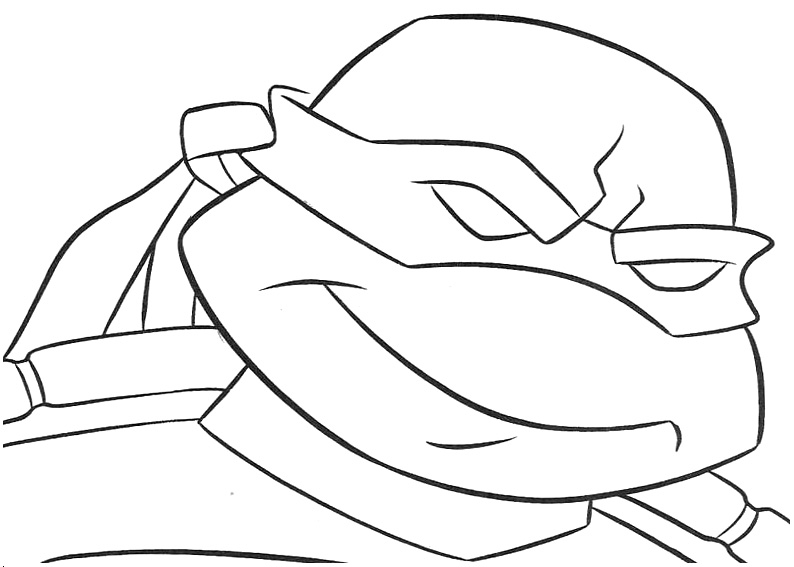 coloring pages ninjas cartoon - photo#41