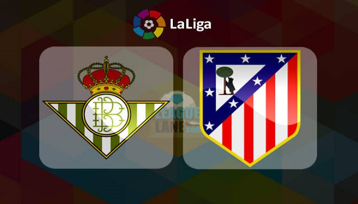 Partido Real Betis vs Atletico Madrid ONLINE