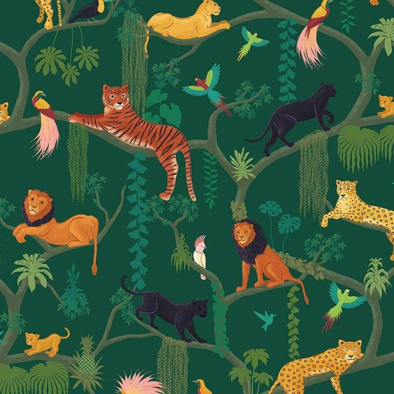 Current Obsession: Wallpaper from Renn Designs
