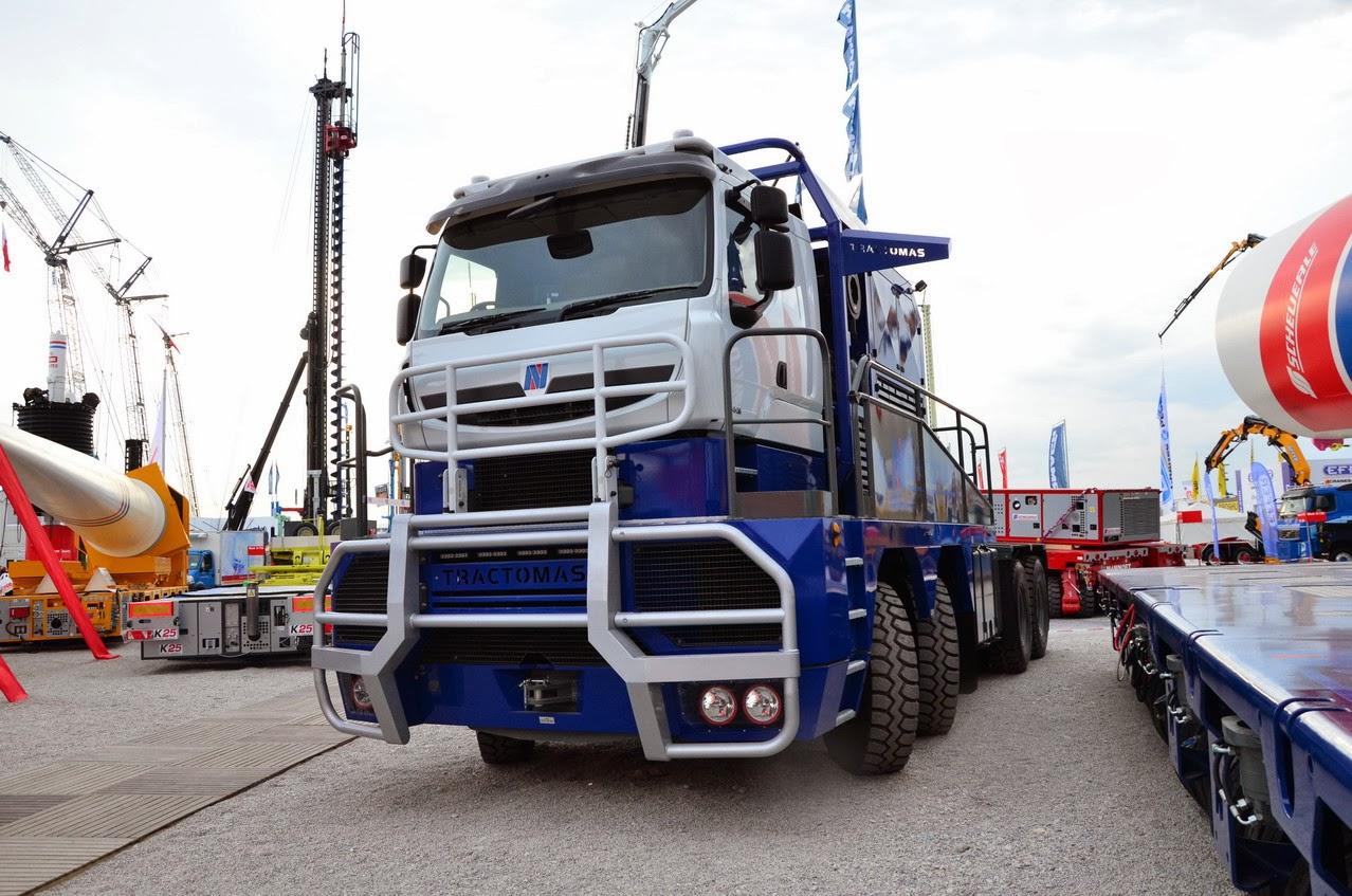 Camión Nicolas Tractomas D75 truck