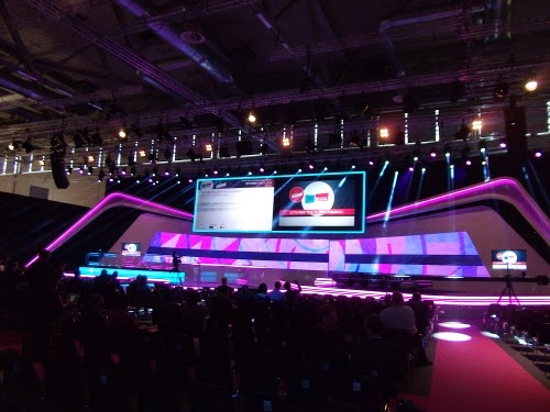 Die imposante Congress Hall der dmexco 2014.