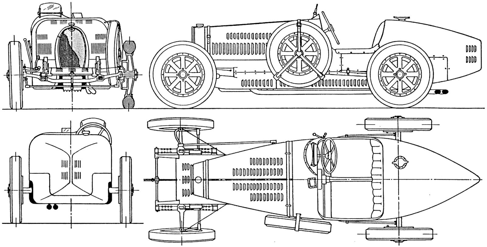 The Tinkers Workshop Blender 3d Bugatti Type 35 Racer