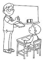 דף צביעה מורה